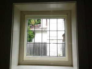 Fixed window glazing over existing window