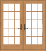 Double glazing french doors