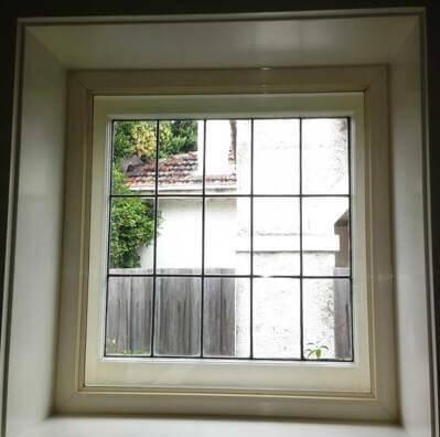 Secondary double glazing fixed windows