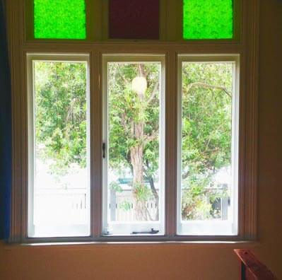 Double glazing lift out windows